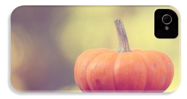 Little Pumpkin IPhone 4 / 4s Case by Amy Tyler