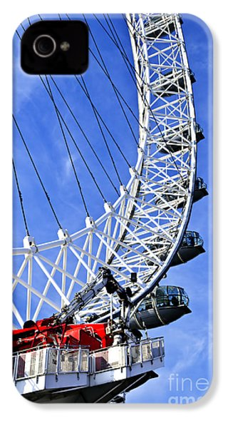 London Eye IPhone 4 / 4s Case by Elena Elisseeva