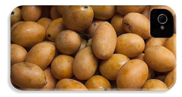 Market Mangoes II IPhone 4 / 4s Case by Zoe Ferrie