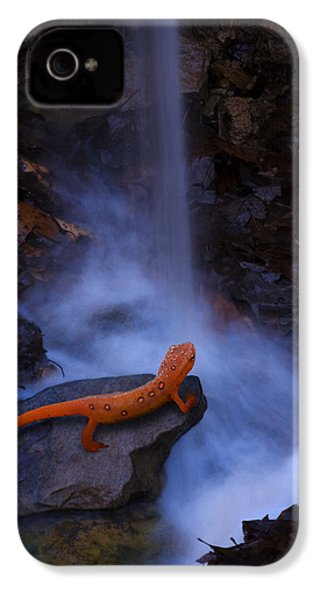 Newt Falls IPhone 4 / 4s Case by Ron Jones