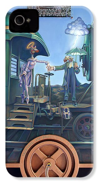 Of Thee I Sing The Body Electric IPhone 4 / 4s Case by Patrick Anthony Pierson