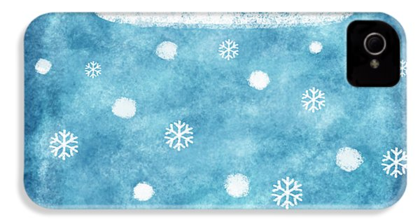 Snow Winter IPhone 4 / 4s Case by Setsiri Silapasuwanchai