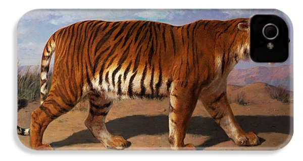 Stalking Tiger IPhone 4 / 4s Case by Rosa Bonheur