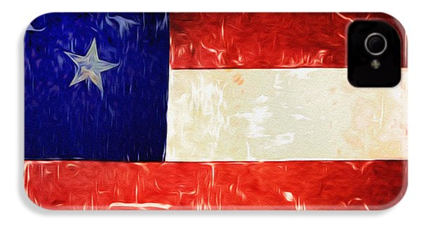 Tattered Texas Flag IPhone 4 / 4s Case by Bill Cannon