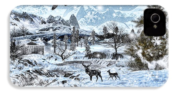 Winter Wonderland IPhone 4 / 4s Case by Lourry Legarde