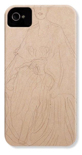 Adele Bloch Bauer IPhone 4 / 4s Case by Gustav Klimt