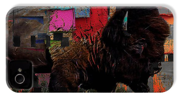 American Buffalo Collection IPhone 4 / 4s Case by Marvin Blaine