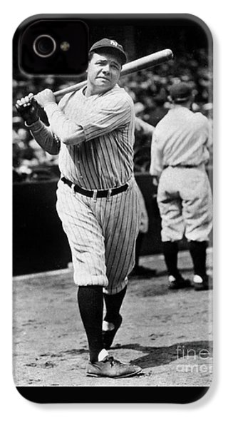 Babe Ruth IPhone 4 / 4s Case by American School