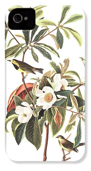 Bachman's Warbler  IPhone 4 / 4s Case by John James Audubon