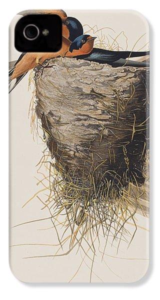 Barn Swallow IPhone 4 / 4s Case by John James Audubon