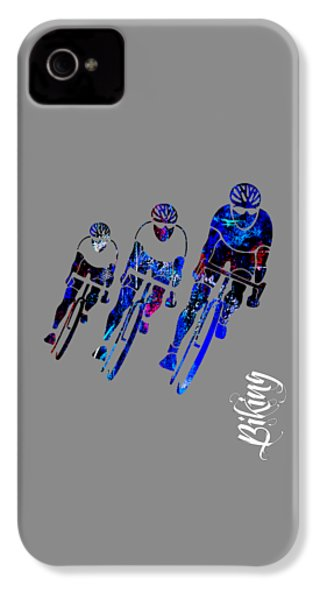 Bike Race IPhone 4 / 4s Case by Marvin Blaine