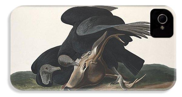 Black Vulture IPhone 4 / 4s Case by John James Audubon