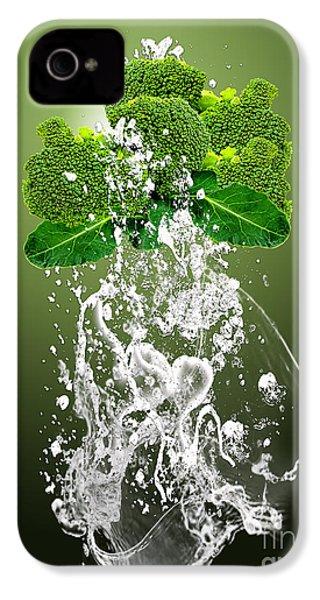 Broccoli Splash IPhone 4 / 4s Case by Marvin Blaine