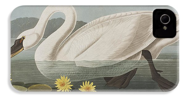 Common American Swan IPhone 4 / 4s Case by John James Audubon