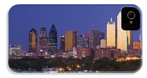 Downtown Dallas Skyline At Dusk IPhone 4 / 4s Case by Jeremy Woodhouse