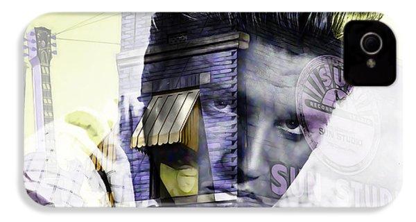 Elvis Presley Sun Studio Collection IPhone 4 / 4s Case by Marvin Blaine