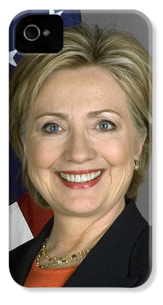 Hillary Clinton IPhone 4 / 4s Case by War Is Hell Store
