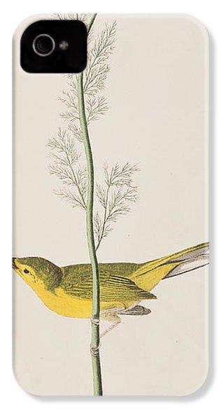 Hooded Warbler IPhone 4 / 4s Case by John James Audubon