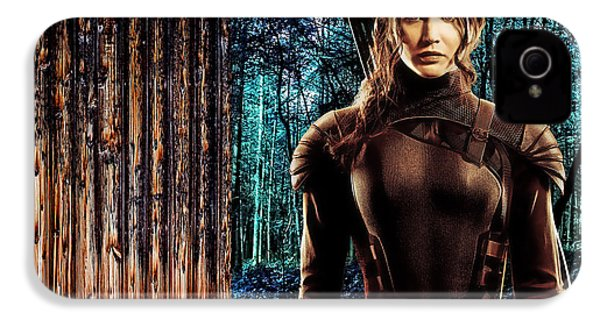 Jennifer Lawrence Collection IPhone 4 / 4s Case by Marvin Blaine