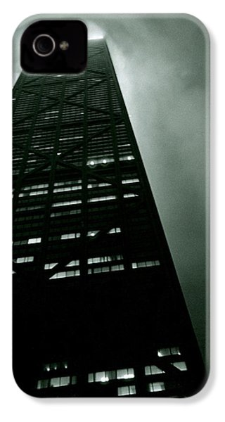 John Hancock Building - Chicago Illinois IPhone 4 / 4s Case by Michelle Calkins