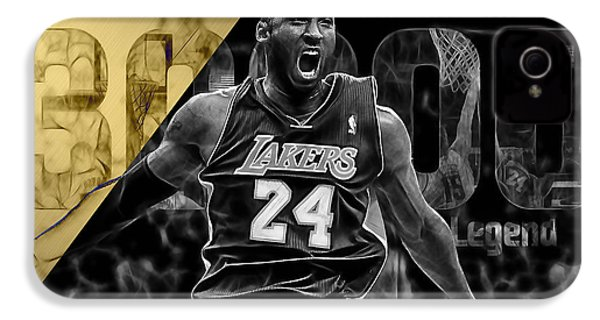 Kobe Bryant Collection IPhone 4 / 4s Case by Marvin Blaine