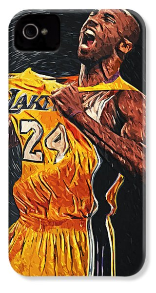 Kobe Bryant IPhone 4 / 4s Case by Taylan Soyturk