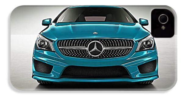 Mercedes Cla Class Coupe Collection IPhone 4 / 4s Case by Marvin Blaine