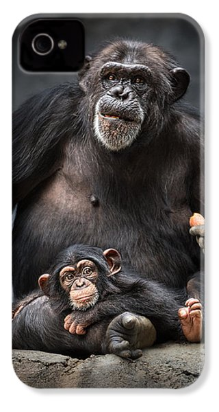 Mommy Pillow IPhone 4 / 4s Case by Jamie Pham