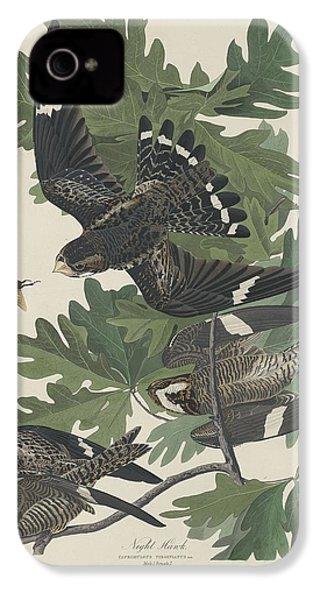 Night Hawk IPhone 4 / 4s Case by John James Audubon