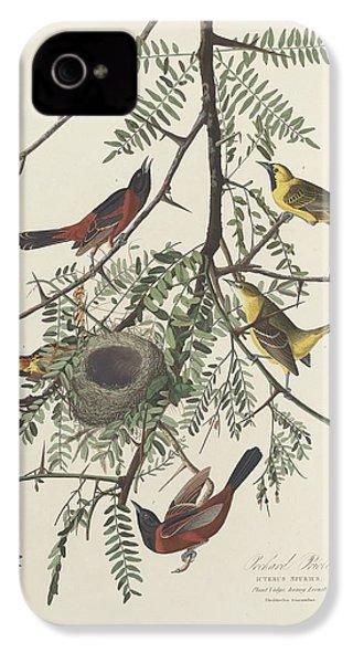 Orchard Oriole IPhone 4 / 4s Case by John James Audubon