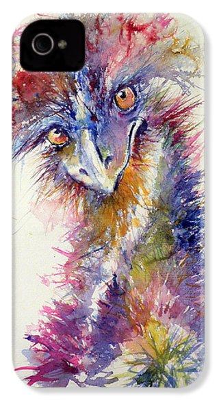 Ostrich IPhone 4 / 4s Case by Kovacs Anna Brigitta