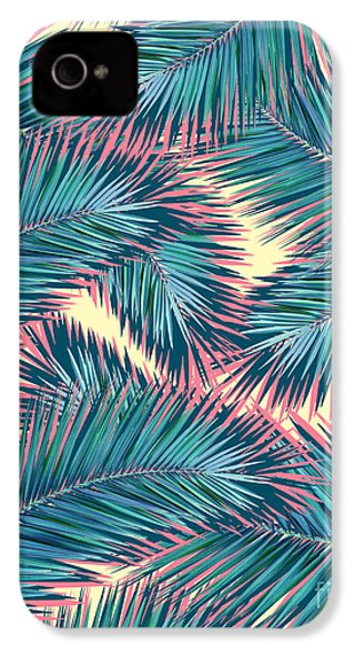 Palm Trees  IPhone 4 / 4s Case by Mark Ashkenazi