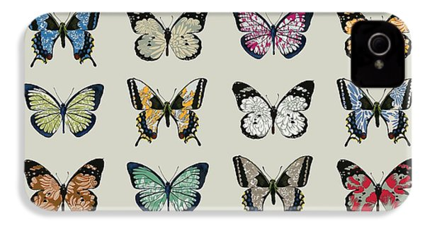 Papillon IPhone 4 / 4s Case by Sarah Hough