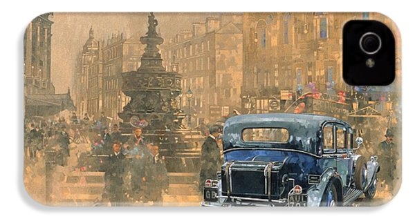 Phantom In Piccadilly  IPhone 4 / 4s Case by Peter Miller