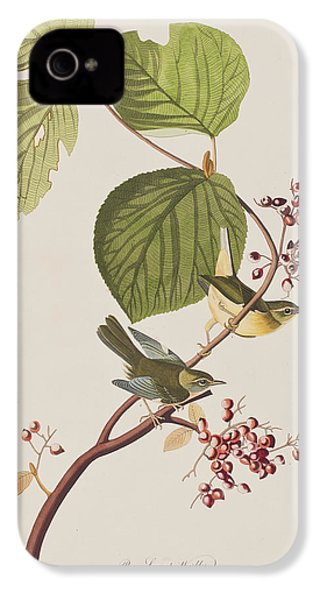 Pine Swamp Warbler IPhone 4 / 4s Case by John James Audubon