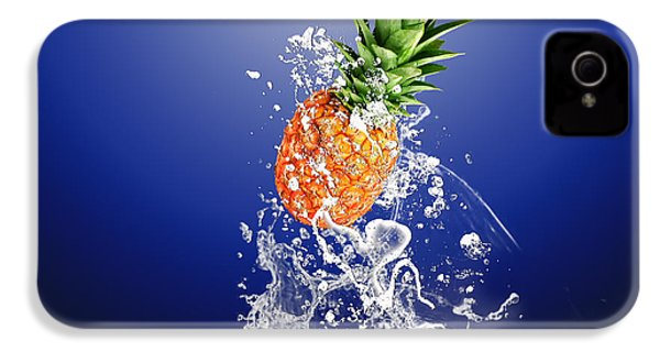 Pineapple Splash IPhone 4 / 4s Case by Marvin Blaine