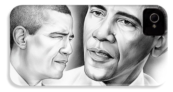President Barack Obama IPhone 4 / 4s Case by Greg Joens