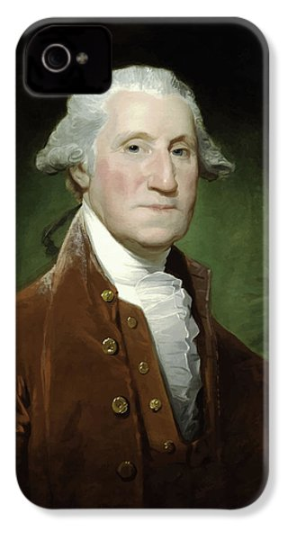 President George Washington  IPhone 4 / 4s Case by War Is Hell Store