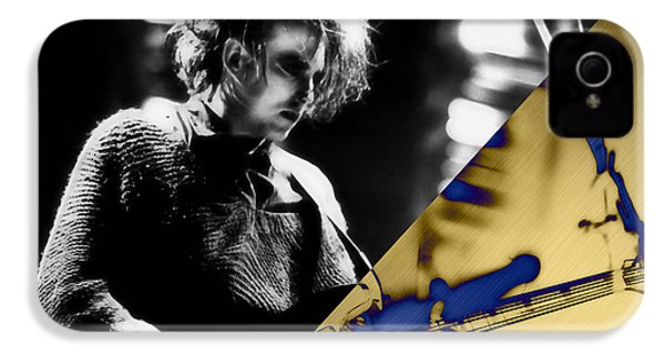 Robert Smith Collection IPhone 4 / 4s Case by Marvin Blaine