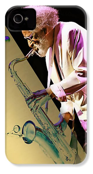 Sonny Rollins Collection IPhone 4 / 4s Case by Marvin Blaine