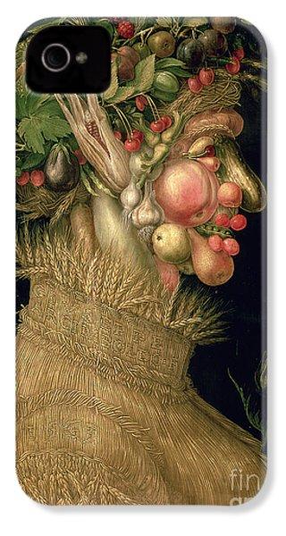 Summer IPhone 4 / 4s Case by Giuseppe Arcimboldo