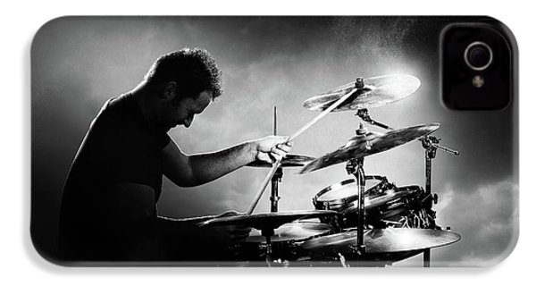The Drummer IPhone 4 / 4s Case by Johan Swanepoel
