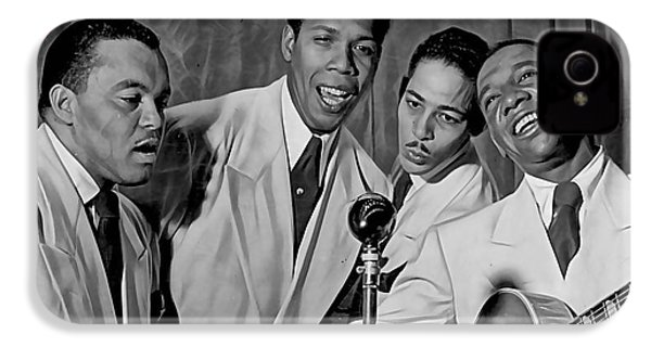 The Ink Spots Collection IPhone 4 / 4s Case by Marvin Blaine