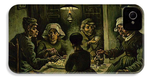 The Potato Eaters, 1885 IPhone 4 / 4s Case by Vincent Van Gogh