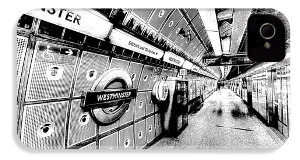 Underground London Art IPhone 4 / 4s Case by David Pyatt