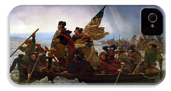 Washington Crossing The Delaware IPhone 4 / 4s Case by Emanuel Leutze