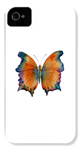 1 Wizard Butterfly IPhone 4 / 4s Case by Amy Kirkpatrick