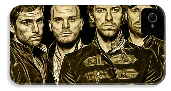 Coldplay Collection IPhone 4 / 4s Case by Marvin Blaine