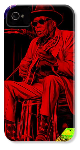 John Lee Hooker Collection IPhone 4 / 4s Case by Marvin Blaine