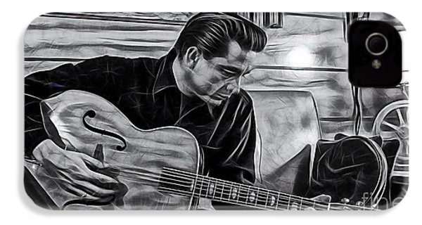 Johnny Cash Collection IPhone 4 / 4s Case by Marvin Blaine